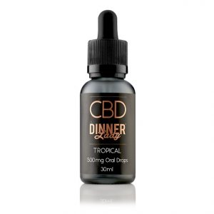 CBD Tropical Oral Drops