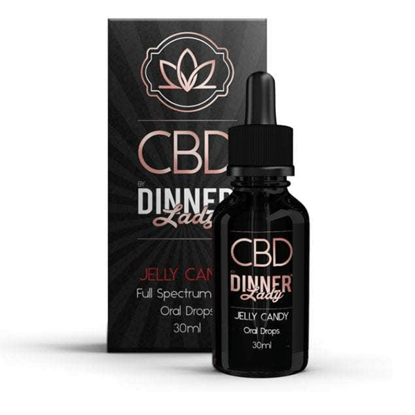 CBD Dinner Lady Oral Tincture Jelly Candy 30ml
