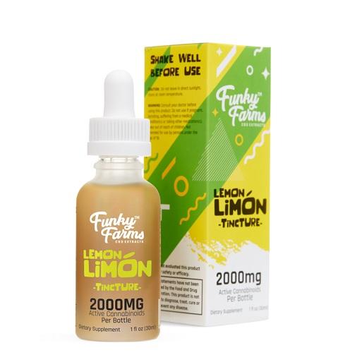 FF Lemon Limon Tincture 2000mg