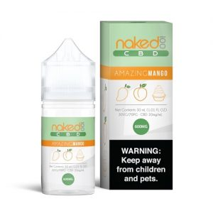 Naked 100 CBD Amazing Mango Vape Liquid 30ml