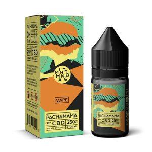 Pachamama CBD Minty Mango Vape Liquid 30mL