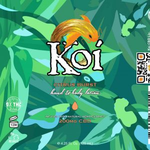 Koi Hemp Extract CBD Lotion 125mL