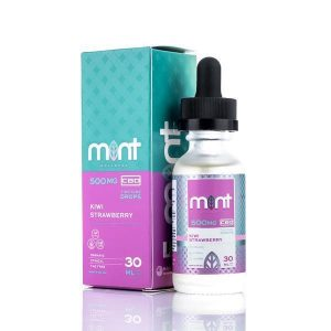mint-wellness-cbd-mint wellness kiwi strawberry cbd tincture drop