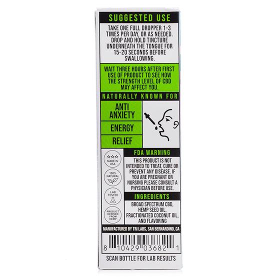 Airfactory CBD berry ingredients 500