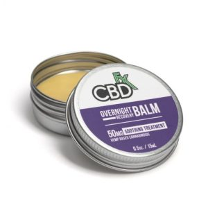CBDfx Balms Overnight Lavender 50mg
