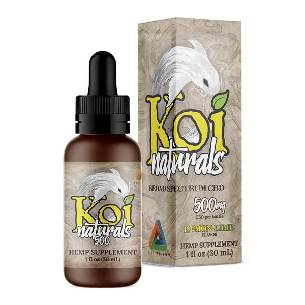 Koi Naturals 500mg hemp Supplement(30ml)