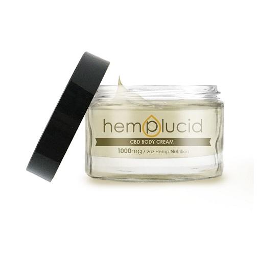 Hemplucid CBD Body Cream