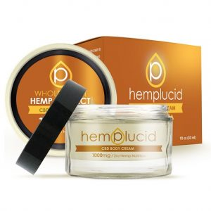 Hempcluid Full Spectrum CBDA Body Cream
