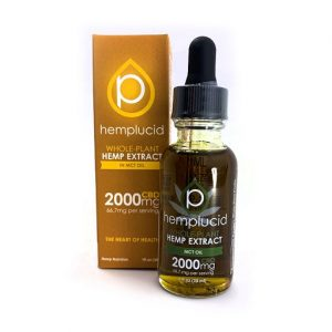 Hempcluid CBD MTC Oil