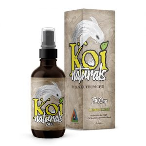 Koi CBD Lemon Lime Spray