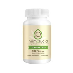 Hempcluid FullSpectrum Gel Capsules