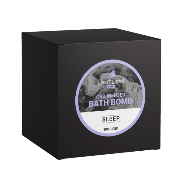 Limitless CBD Bath Bomb Box Sleep