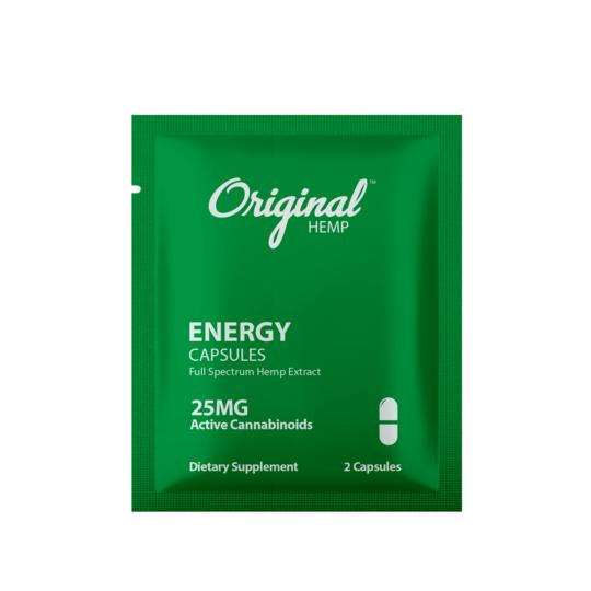 Original hemp energy capsaule
