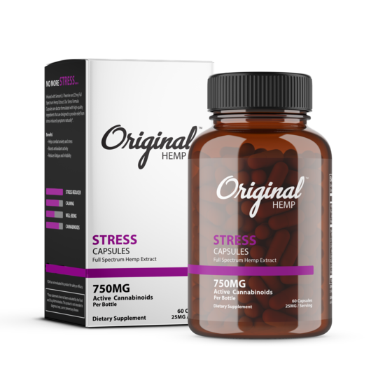 Original hemp stress capsule