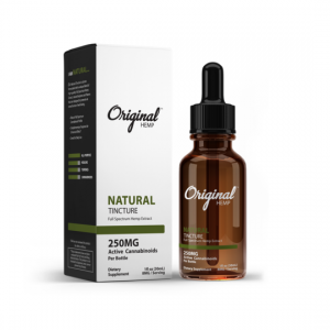 Original hemp natural tincture