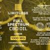 Limitless CBD Full Spectrum Oil Tincture 1oz 1000mg