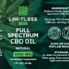 Limitless CBD Full Spectrum Oil Tincture 1oz