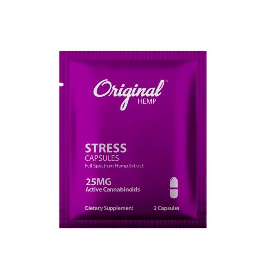 Original hemp stress capsule