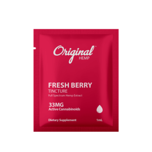 Original hemp freash berry tincture