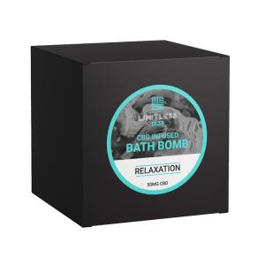 Limitless CBD Bath Bomb Box Relaxation