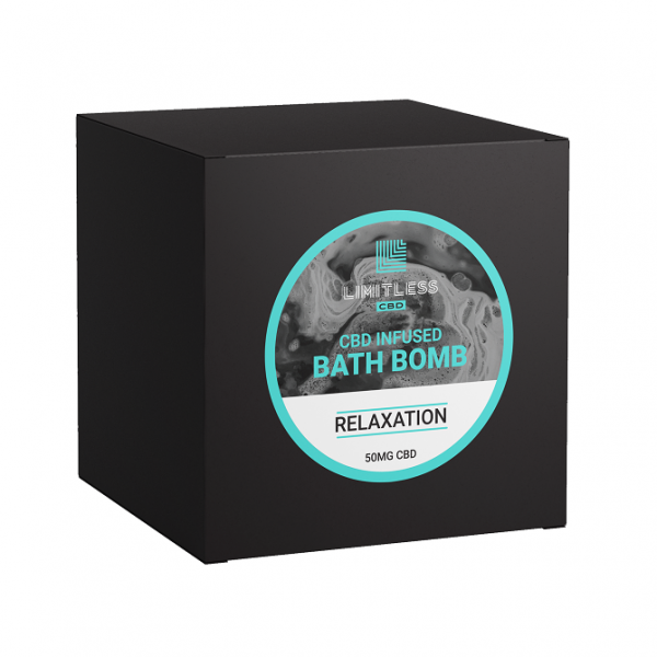 Limitless CBD Bath Bomb Box Relaxation