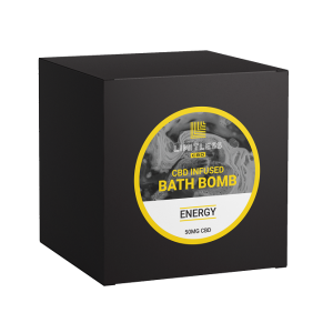 Limitless CBD Bath Bomb Box Energy