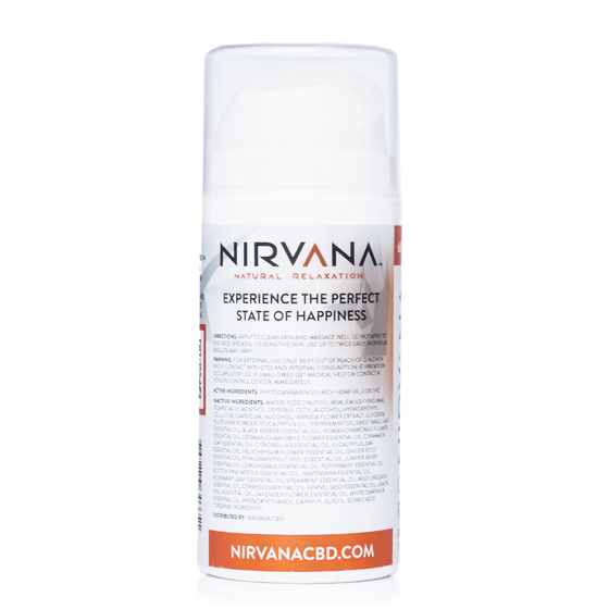 Nirvana Cbd Muscle Recovery Lotion 100ml