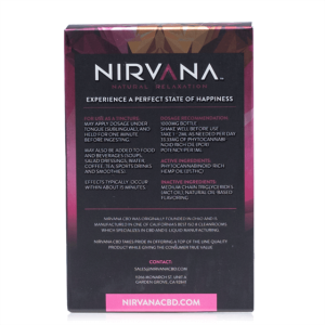Nirvana Cbd Grapefruit Tincture 30ml