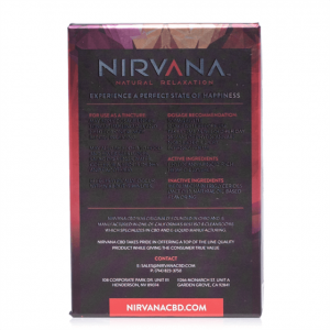 Nirvana Cbd Strawberry Tincture 30ml