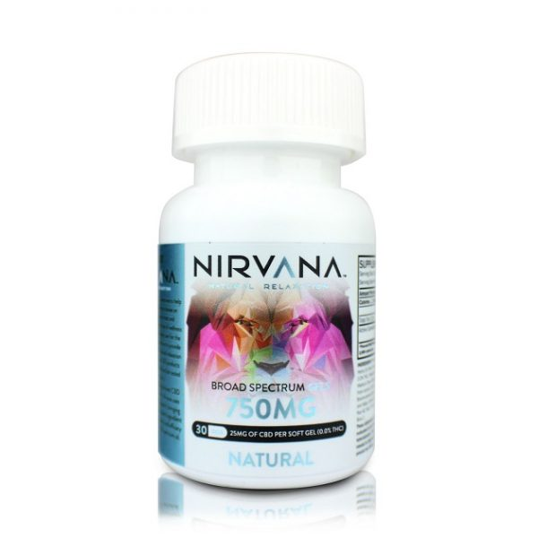 Nirvana CBD Products Natural