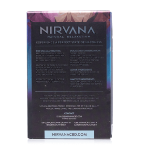 Nirvana Cbd Peppermint Tincture 30ml