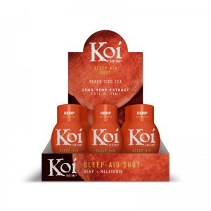 koi peach sleep aid shot