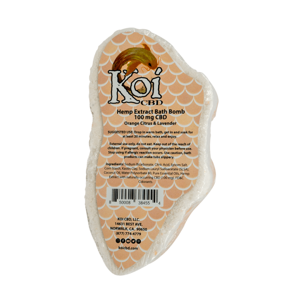 Koi Hemp Extract CBD Bath Bomb