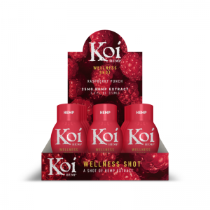 koi Raspberry Wellness Shots