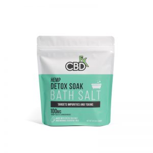 CBDFx Bath Salt Detox Soak