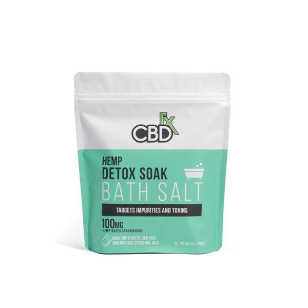 CBDFx Bath Salt Detox Soak