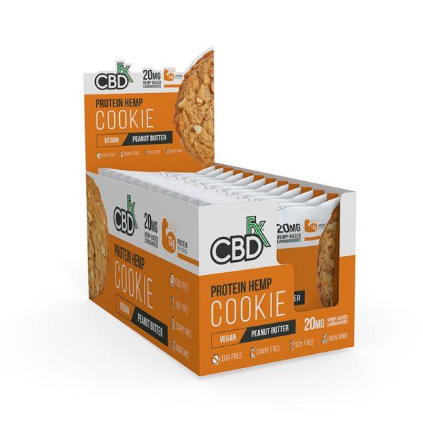 CBDFx Protein Cookie Peanut Butter Refill
