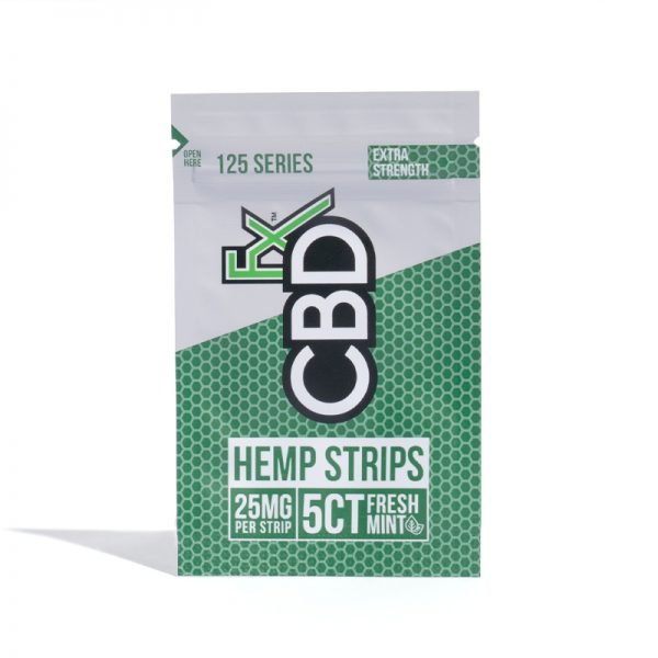 CBDFx Hemp Strips 25mg