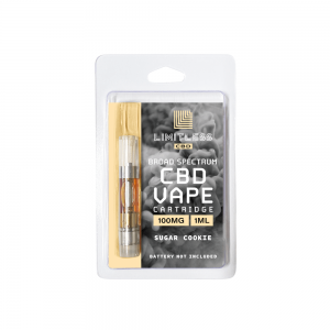Limitless CBD Vape Cartridge Sugar Cookie100mg