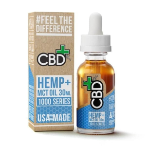 CBDfx Hemp MCT oil 1000mg