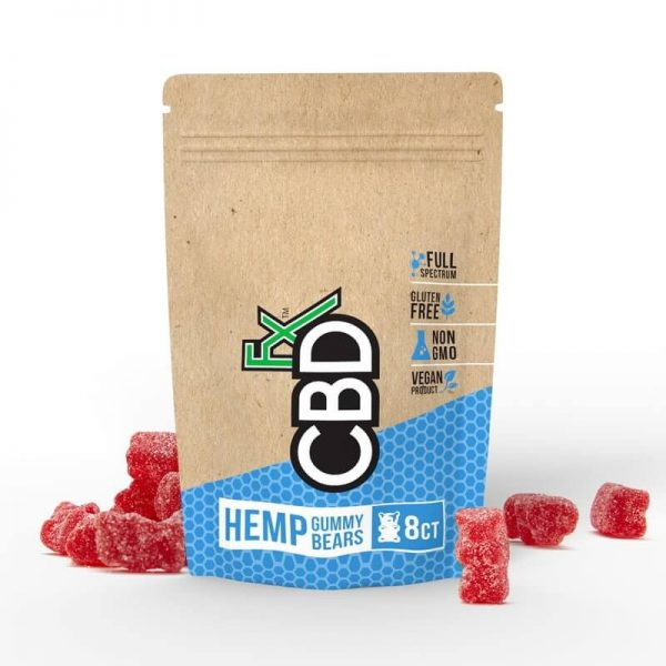 CBD Gummy Bears 8Pack Pouch-40mg
