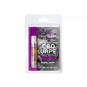 Limitless Cbd Vape Cartridge Mixed Berry
