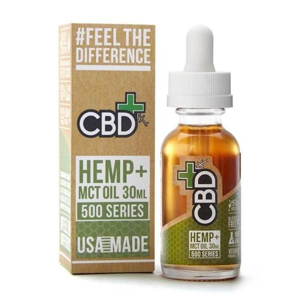 CBDfx Hemp MCT oil 30ml