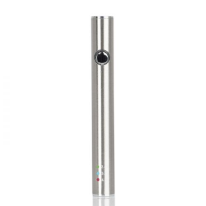 leaf buddi max vaporizer w charger silver