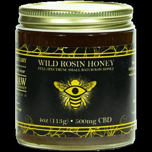 The Brothers Apothecary Wild Rosin CBD Honey 500MG