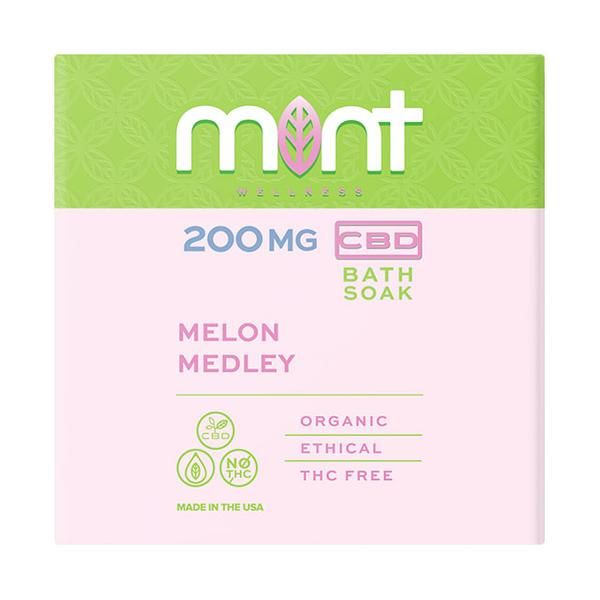 Mint Melon Medley Bath Soak 200MG