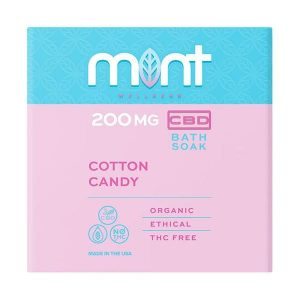 Mint Cbd Cotton Candy Bath Soak 200MG