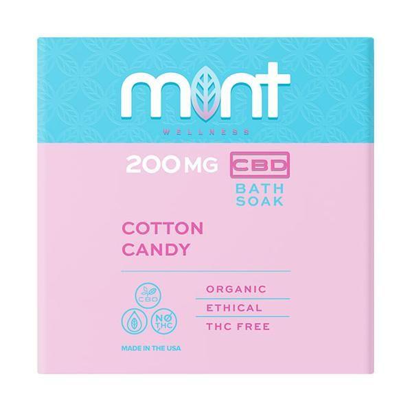 Mint Cbd Cotton Candy Bath Soak 200MG