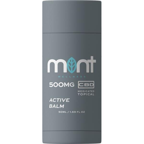 Mint Active Cbd Balm Topical 500MG