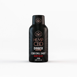 Dinner Lady CBD Berry 25mg Energy Shot